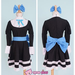 Panty & Stocking Black Maid Dress Cosplay Costume SP151649 - SpreePicky  - 5