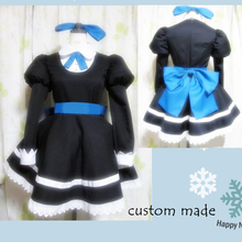 Load image into Gallery viewer, Panty & Stocking Black Maid Dress Cosplay Costume SP151649