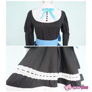 Panty & Stocking Black Maid Dress Cosplay Costume SP151649 - SpreePicky  - 7