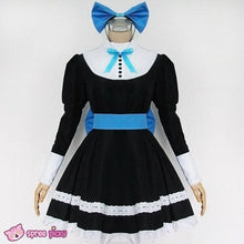 Load image into Gallery viewer, Panty & Stocking Black Maid Dress Cosplay Costume SP151649 - SpreePicky  - 3