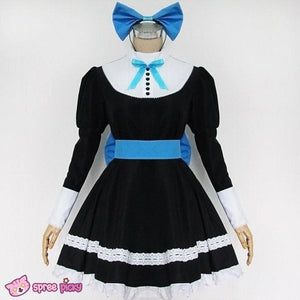 Panty & Stocking Black Maid Dress Cosplay Costume SP151649 - SpreePicky  - 3