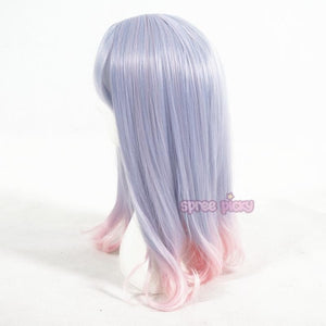 Pastel Blue Pink Mixed Wig SP165379