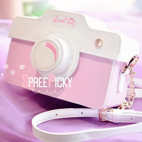 Pastel Camera Cross Body Bag SP1710260