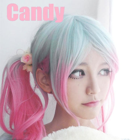 Pastel Candy Pink Wig SP167214