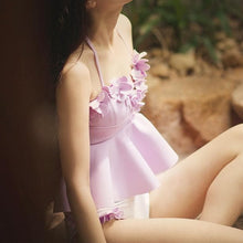 Load image into Gallery viewer, Pastel Floral Fairy Two-Piece Swimsuit SP179161