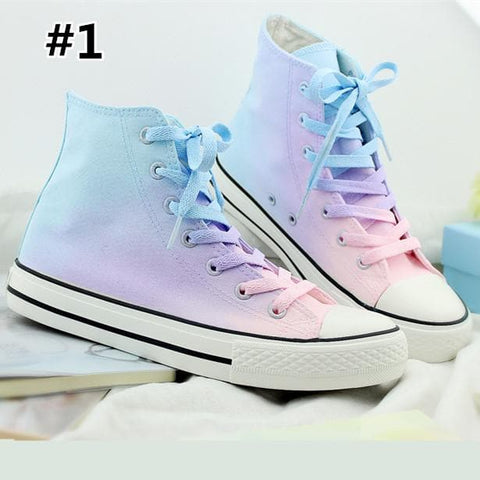 Pastel Harajuku Candy Canvas Shoes SP179670