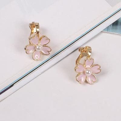 Pastel Sakura Blossom Ring/Earrings SP179434