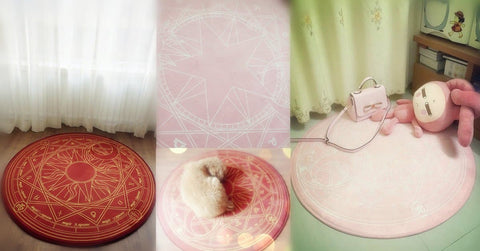 [Reservation] Pink/Dark Red Card Captor Sakura Carpet SP153429 - SpreePicky  - 4