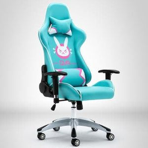 Pink/Black/Green Overwatch D.VA Bunny Gaming Chair SP1812340