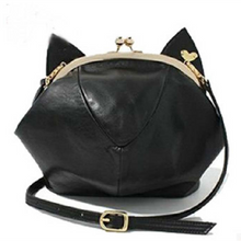Load image into Gallery viewer, Pink/Black Cute kitten Mini Shoulder Bag SP152949 - SpreePicky  - 2