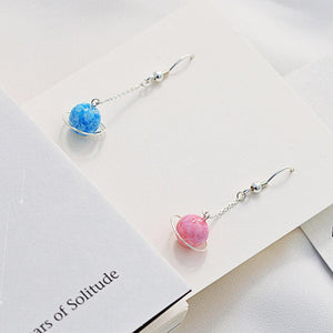 Pink/Blue Fairy Planetary Earrings SP1811838