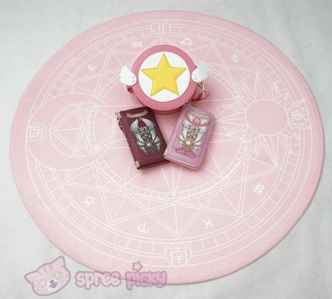 [Reservation] Pink/Dark Red Card Captor Sakura Carpet SP153429 - SpreePicky  - 6