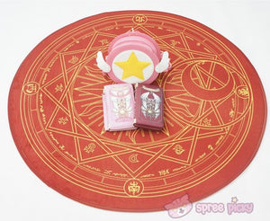 [Reservation] Pink/Dark Red Card Captor Sakura Carpet SP153429 - SpreePicky  - 5