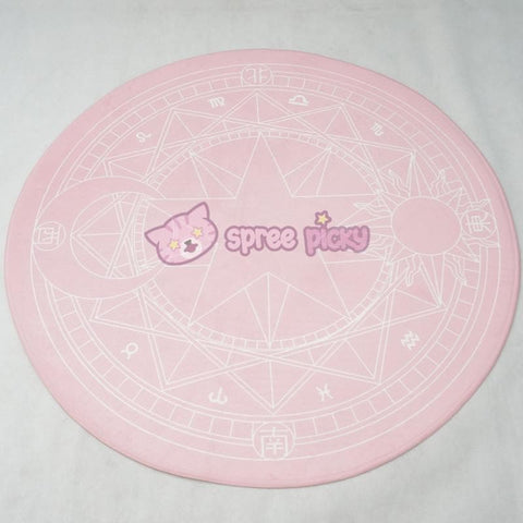 [Reservation] Pink/Dark Red Card Captor Sakura Carpet SP153429 - SpreePicky  - 10
