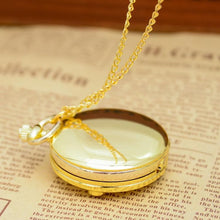 Load image into Gallery viewer, Pink/Golden Sailor Moon Moon Prism Pocket Watch SP165497