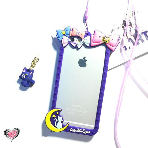 Pink/Purple [Sailor Moon] Iphone 6/Iphone 6 Plus Phone Case SP154280 - SpreePicky  - 9