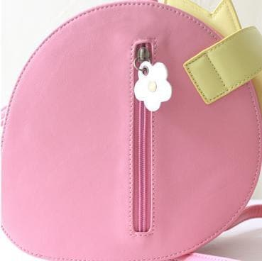 Pink/Red Kawaii Strawberry Shoulder Bag SP152297 - SpreePicky  - 10