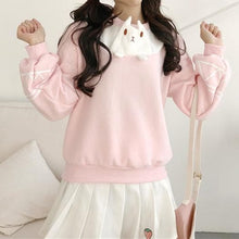 Load image into Gallery viewer, Pink Kawaii Cartoon Sweatershirt SP1811729