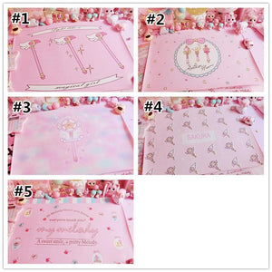 Pink Sailor Moon Kawaii Wand PU Table Mat SP1811910