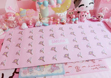 Load image into Gallery viewer, Pink Sailor Moon Kawaii Wand PU Table Mat SP1811910