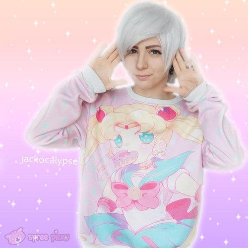 [Princess-misery Design] [Sailor Moon Donut] Fleece Jumper SP141604 - SpreePicky  - 1