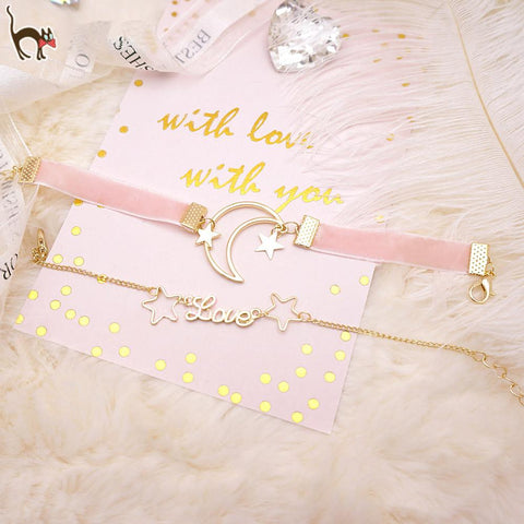 Princess Moon Star Bracelet SP179412