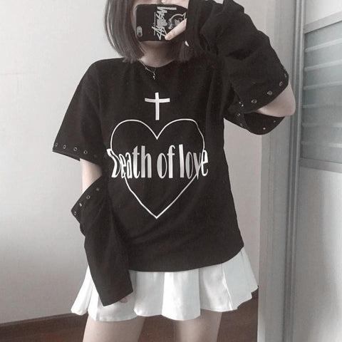 Punk Rock Death Of Love Jumper SP168080
