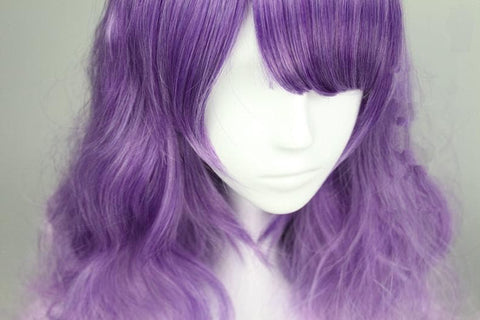 Purple Lolita Long Curly Hair Wig SP166372