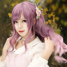 Load image into Gallery viewer, Final Stock! Purple Mixed Pink Lolita Long Curly Hair Wig SP166371