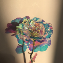 Load image into Gallery viewer, Radiant Crystal Gold Rose SP13484