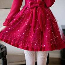 Load image into Gallery viewer, Red Elegant Snow-fall Tulle Dress SP1711461