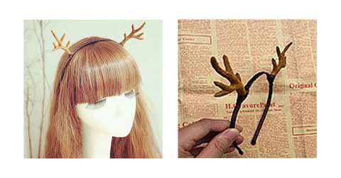 Reindeer Ears Hair Band SP154109 - SpreePicky  - 2