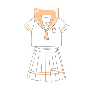 Corgi Sailor Uniform Shirt/Skirt SP1710012