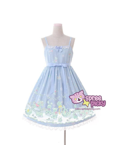 Ice Doll Wonderland Shirt/JSK Dress SP168012
