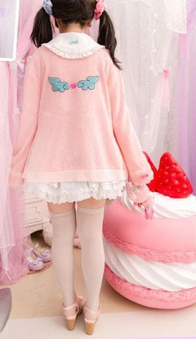 Kawaii Bunny Blouse/Skirt/Sweater SP153543 - SpreePicky  - 5