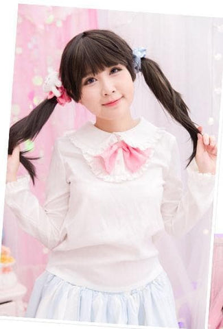 Kawaii Bunny Blouse/Skirt/Sweater SP153543 - SpreePicky  - 7