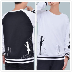 M-3XL Your Name Miyamizu Mitsuha Couple Pullover Jumper SP168564