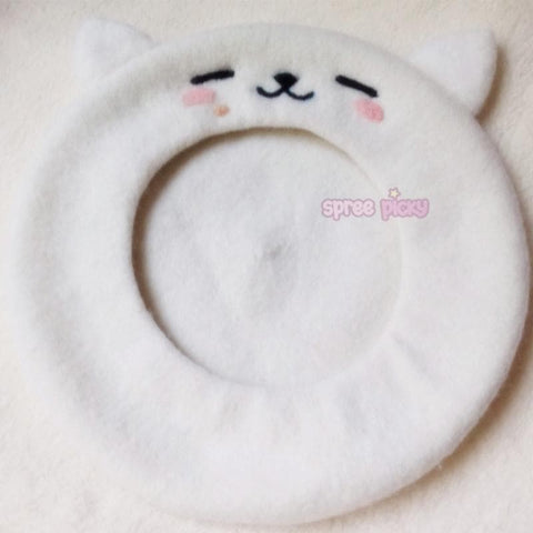 Reservation [Neko Atsume] Neko Cat Beret Hat SP165226