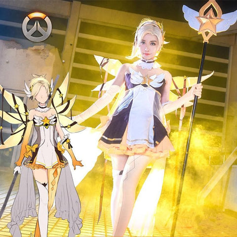 [Reservation] Overwatch Magical Maiden Mercy Dress SP1710463