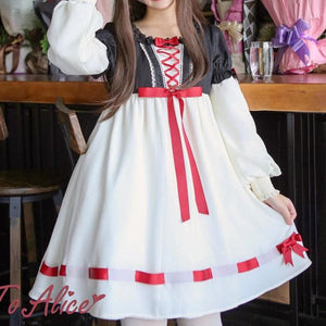 [Reservation] Retro Alice in Wonderland Dress SP1711319