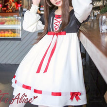 Load image into Gallery viewer, [Reservation] Retro Alice in Wonderland Dress SP1711319