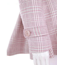 Load image into Gallery viewer, [Reservation] S/M/L Pink/Grey Retro England Style Cape Coat SP153644 - SpreePicky  - 9