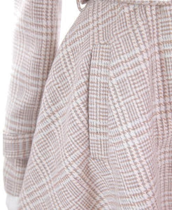[Reservation] S/M/L Pink/Grey Retro England Style Cape Coat SP153644 - SpreePicky  - 12