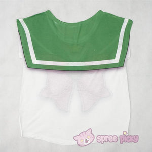 [Reservation][Spree Picky Original Design] Sailor Jupiter Sailor Bow Tee Shirt SP153103 - SpreePicky  - 2