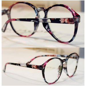 Retro Elegant Floral Patterns Supple Big Glasses SP151668 - SpreePicky  - 2
