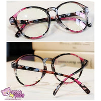 Retro Elegant Floral Patterns Supple Big Glasses SP151668 - SpreePicky  - 1