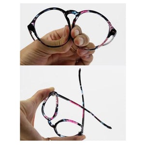 Retro Elegant Floral Patterns Supple Big Glasses SP151668 - SpreePicky  - 3