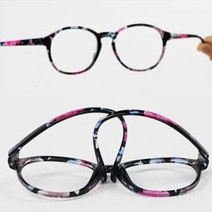 Retro Elegant Floral Patterns Supple Big Glasses SP151668 - SpreePicky  - 4