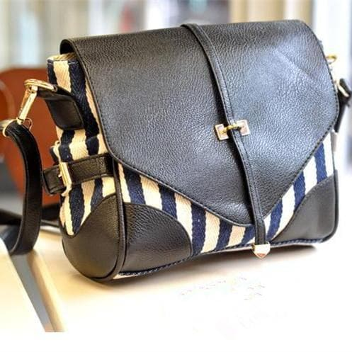 Retro Stripes Mail Bag SP152230 - SpreePicky  - 1