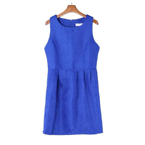 S-2XL 5 Colors Sleeveless Dress SP152271 - SpreePicky  - 7